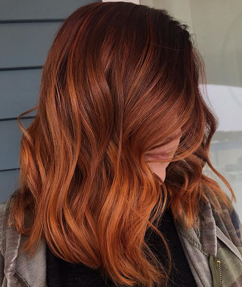 Medium Length Red Hair
