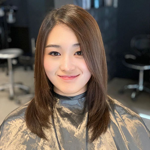 Asian Medium Haircut