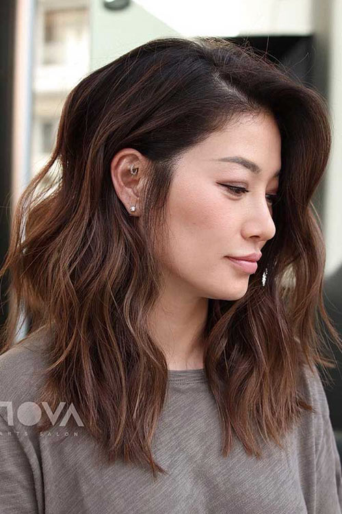 Asian Medium Hair