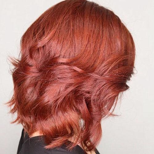 Medium Length Red Hair