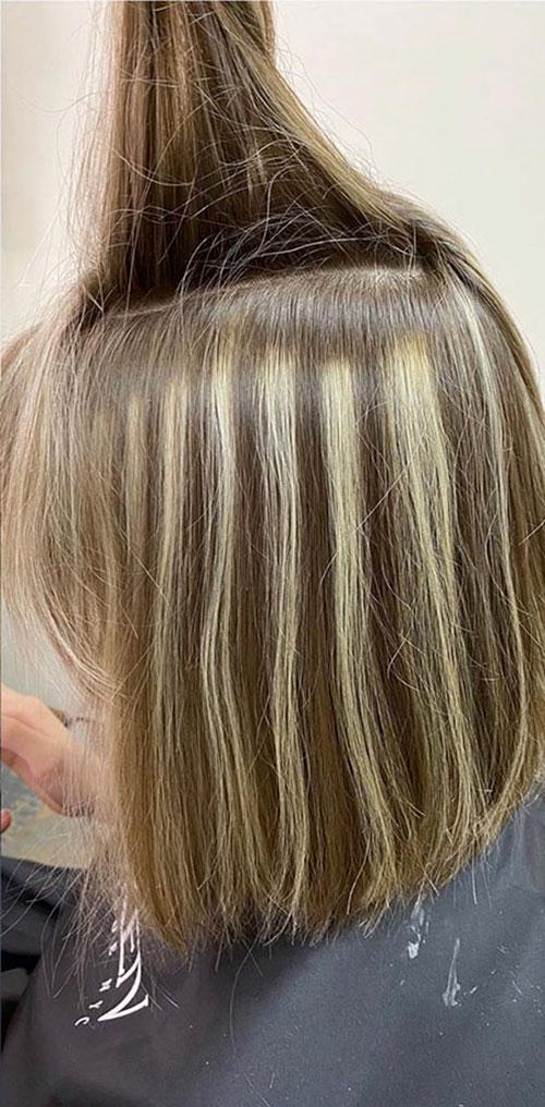 Balayage Medium Hair