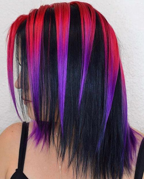 35 Pretty Medium Length Hair Color Ideas In 2020 Medium Hairstyles Haircuts