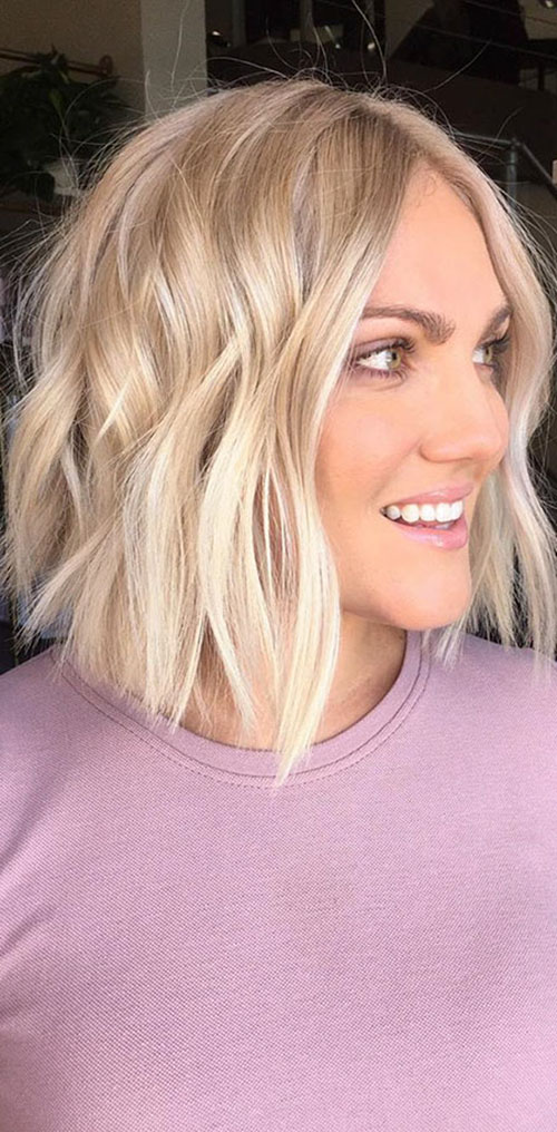 Blonde Medium Hair