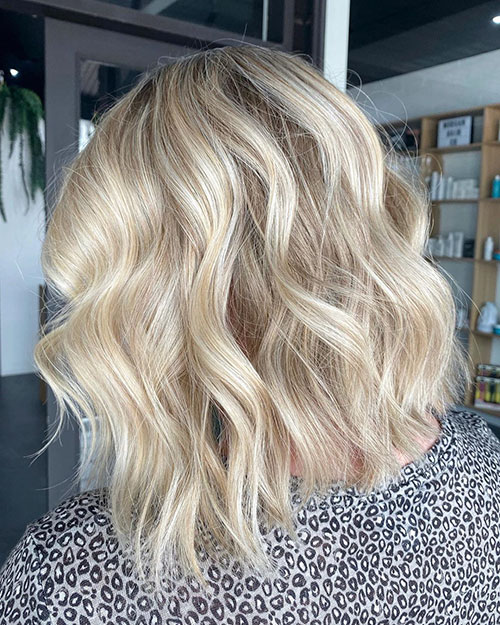 Medium Blonde Haircuts