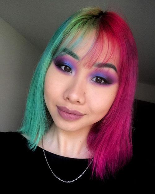 Hair Color For Medium Length Hair