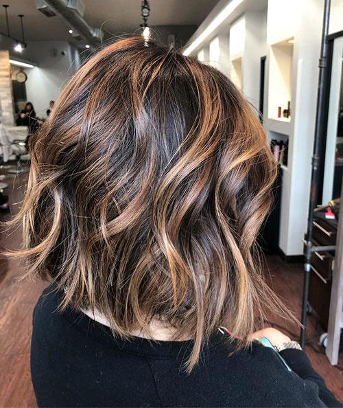 Medium Long Hair Balayage
