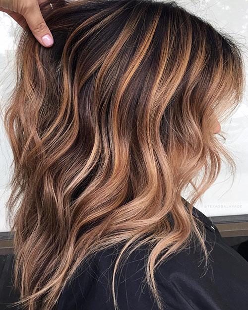 Medium Hairstyles Balayage