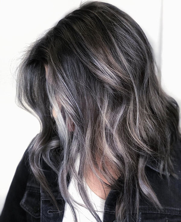 Medium Grey Hairstyles In 2020