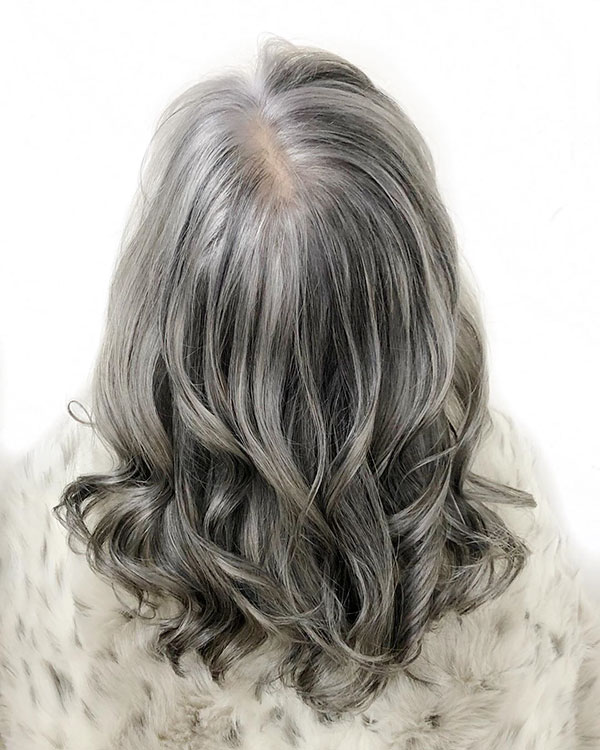 Medium Grey Hair
