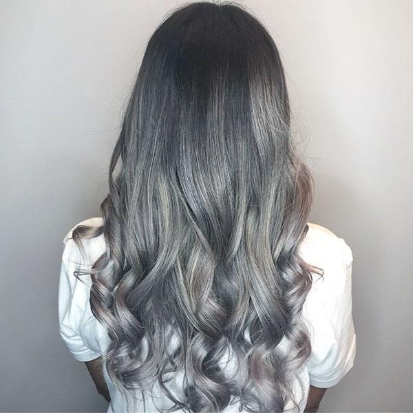 Medium Silver Hairstyles