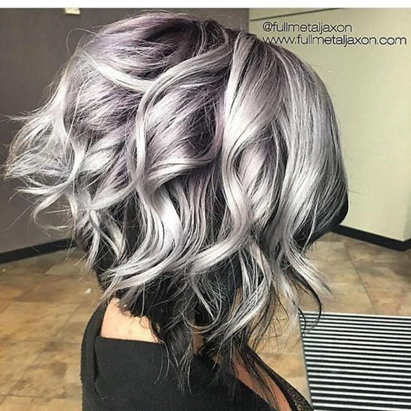 Grey Hair Color For Medium Hair