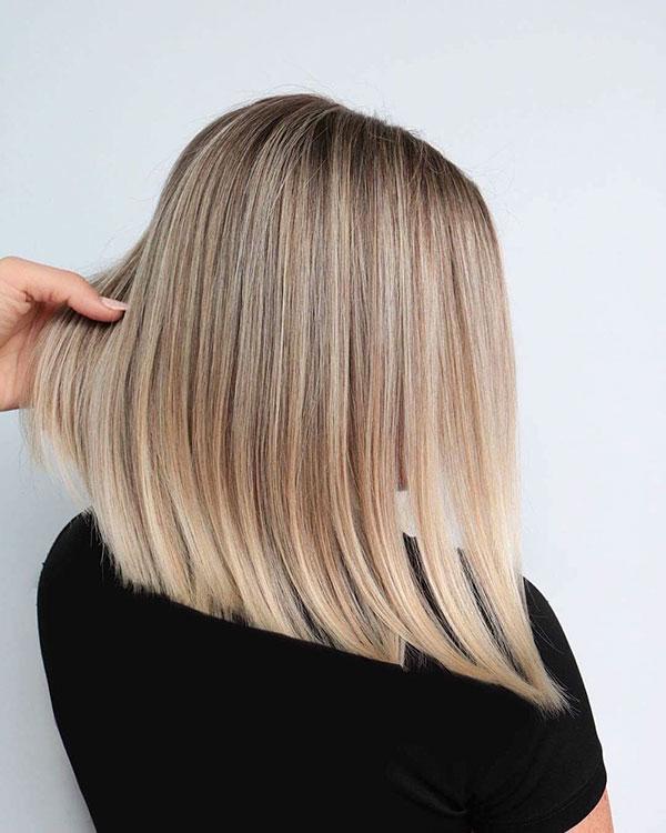 Medium Blonde Hairstyles