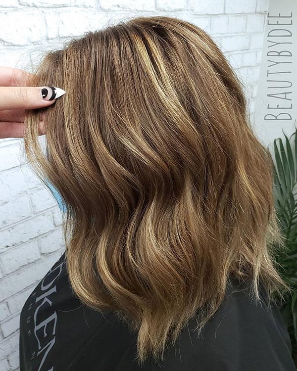 Wavy Styles For Medium Hair