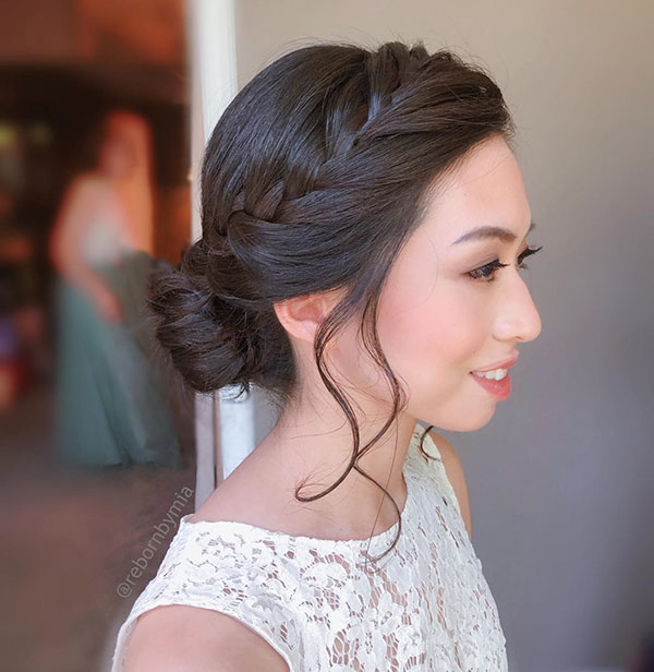 Cute Wedding Hairstyles For Medium Hair