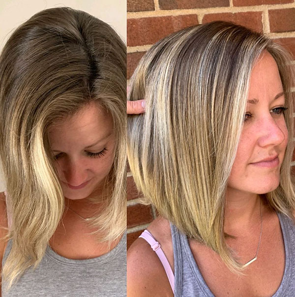 Easy To Style Medium Haircuts
