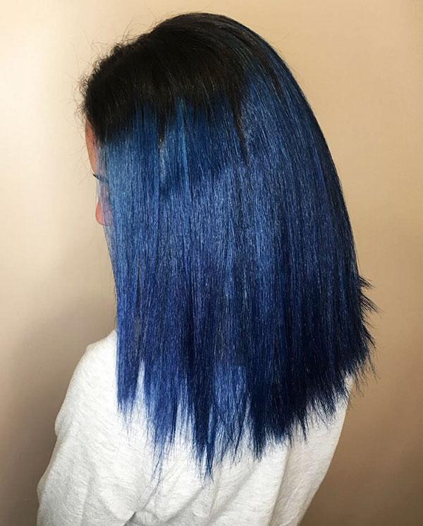 Medium Blue Hair 2020