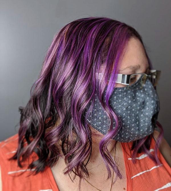 Medium Haircuts For Wavy Hair 2020