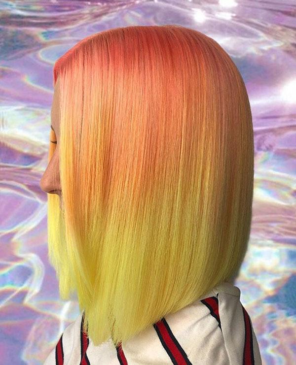 Images Of Medium Pink Hair