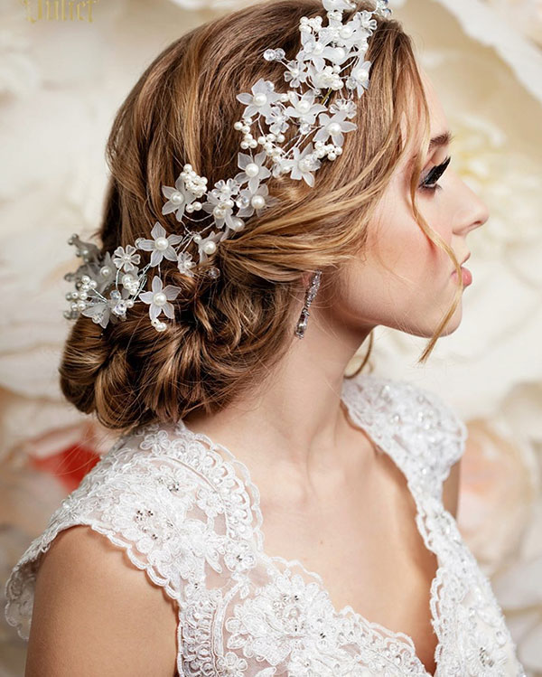 Medium Wedding Hairstyles 2020