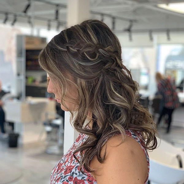 Wedding Styles For Medium Hair