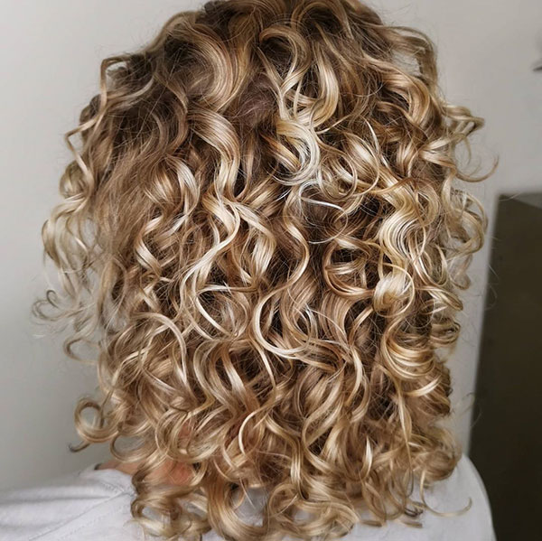 Medium Curly Styles