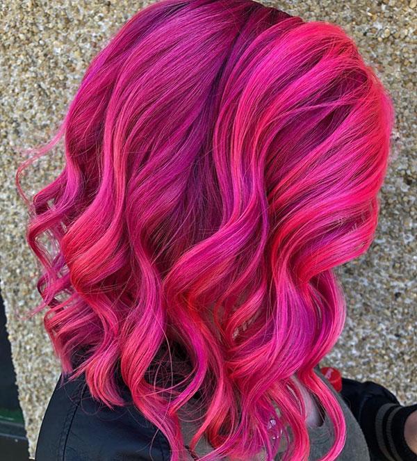Medium Hair Color Styles