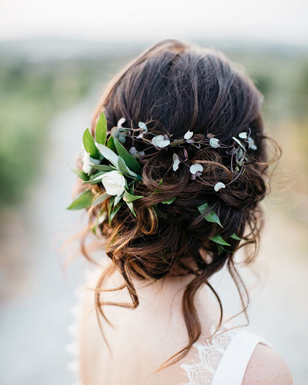 Medium Hair Wedding Styles
