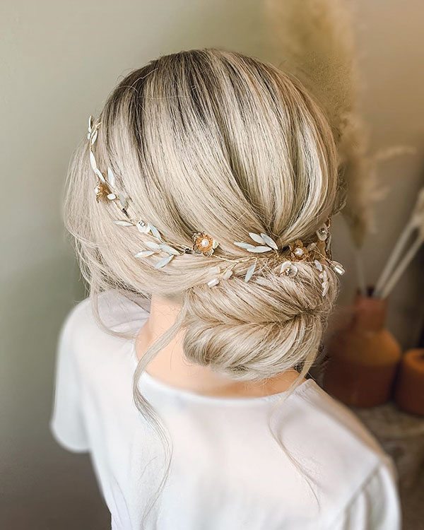 Wedding Hair For Medium Hair