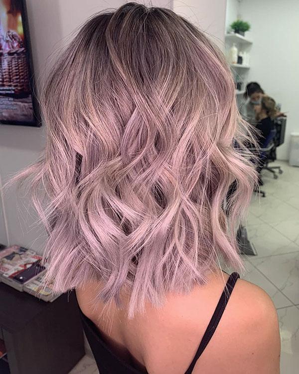 Medium Haircuts And Color