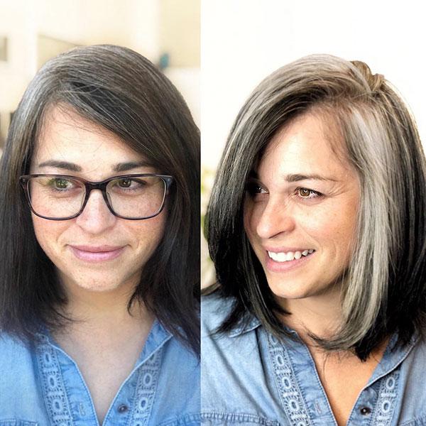 Nice Medium Haircuts For Mature Women