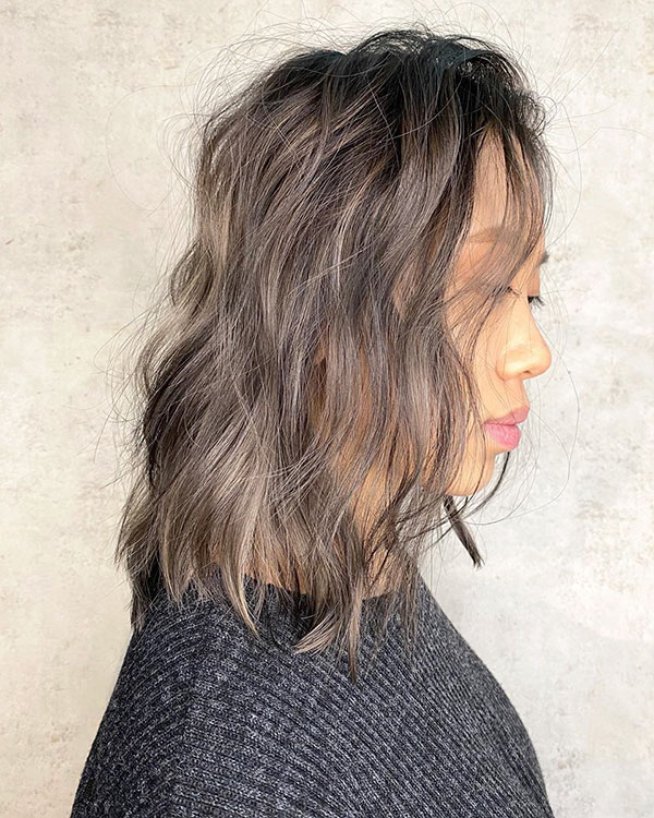 Asian Medium Hair Pictures