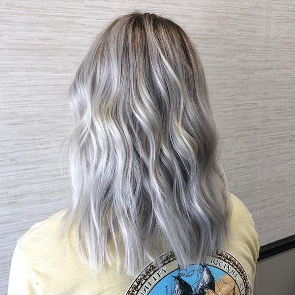 Haircuts For Medium Platinum Hair