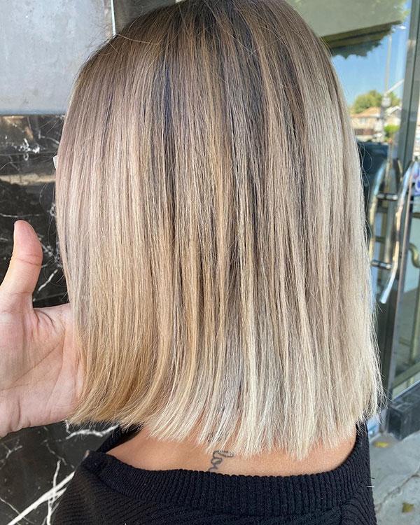 Medium Haircut Styles For Thin Hair