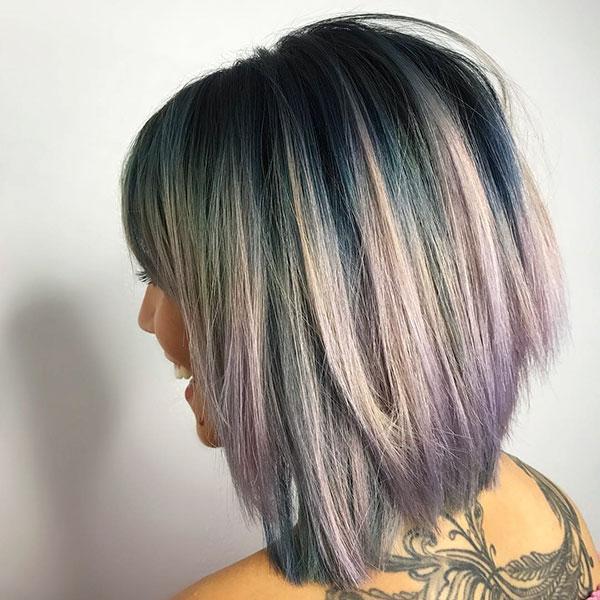 Straight Styles For Medium Hair