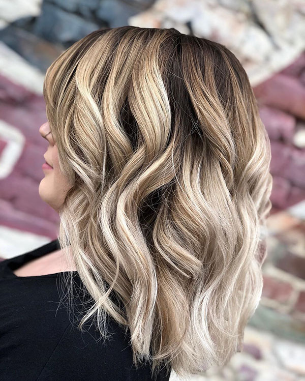 Medium Balayage Hairstyles 2020