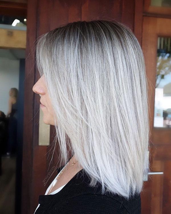 Medium Platinum Hair 2020