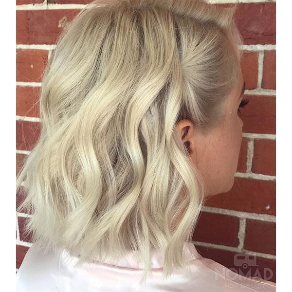 Wavy Hairstyles For Medium Hair