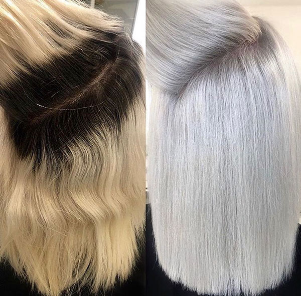 Hairstyles For Medium Platinum Hair