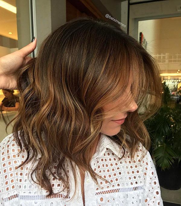Medium Brown Hair Women