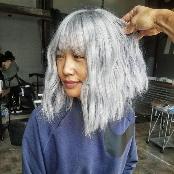 Images Of Medium Platinum Hair