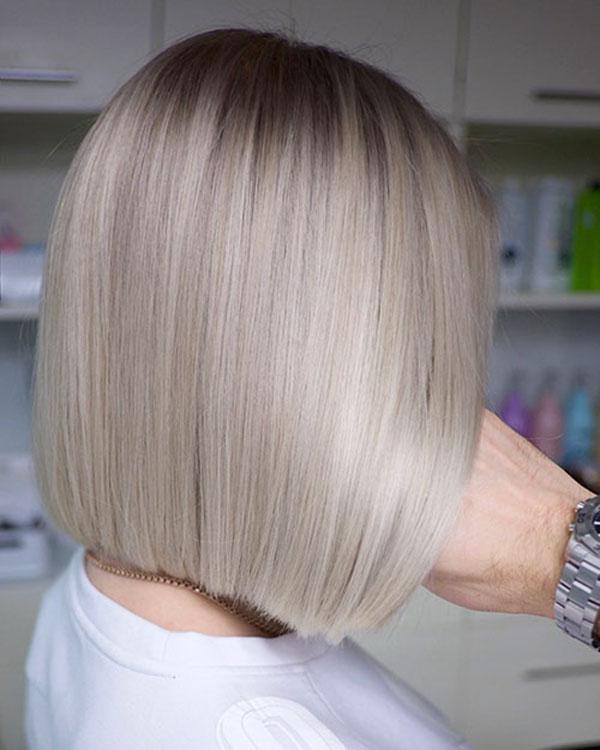 Straight Medium Hairstyles For Women