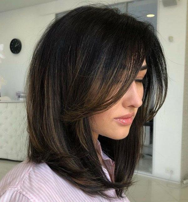 Cute Medium Haircuts For Straight Hair