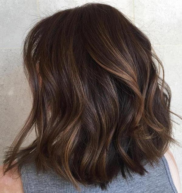 Medium Brown Hair Ideas