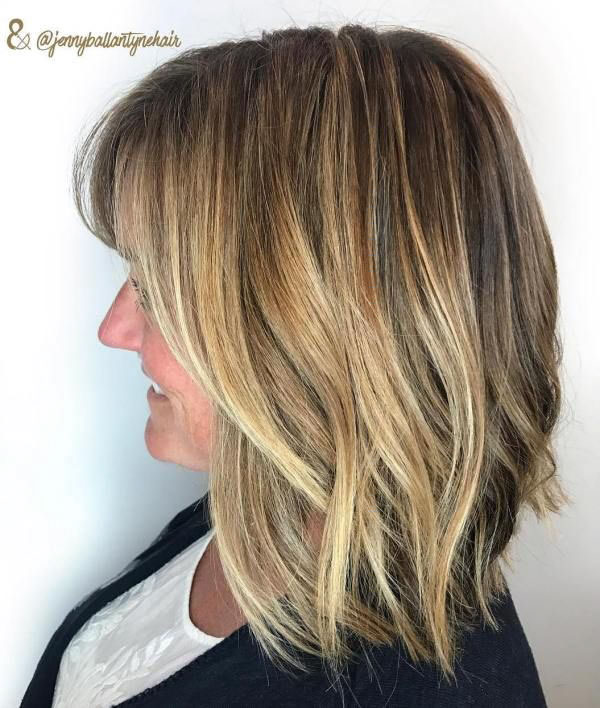 Medium Hair Over 40