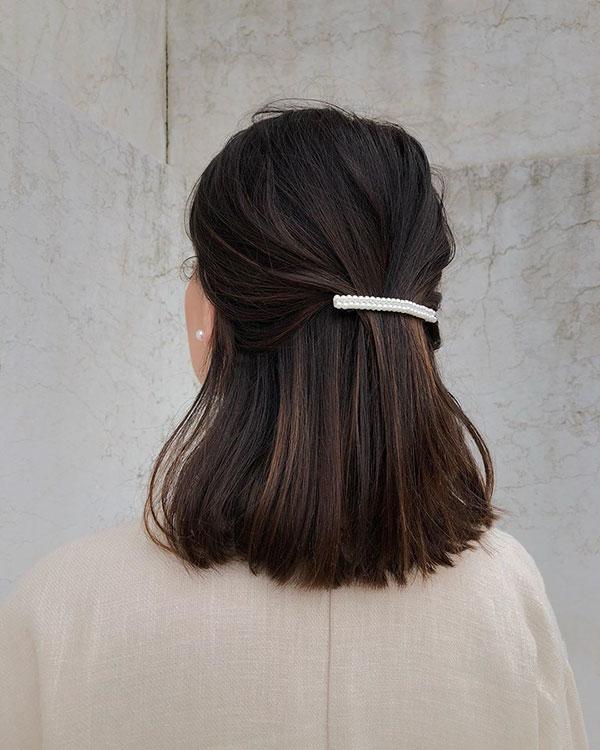 Cute Hairstyles For Medium Straight Hair