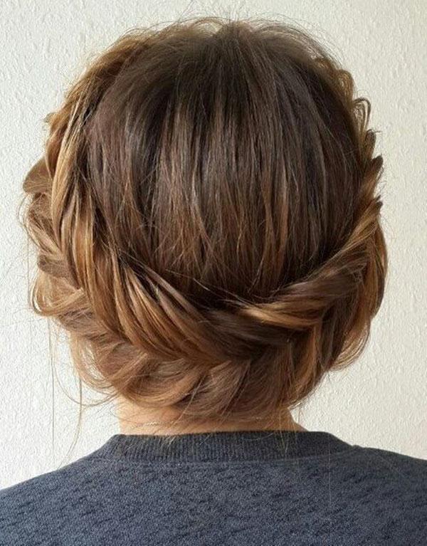 Medium Length Cute Braided Hairstyles