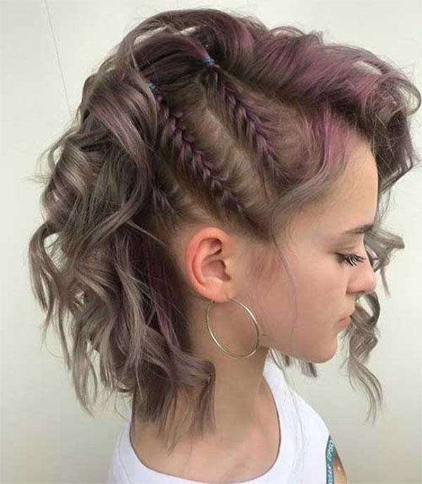 Cute Easy Braided Hairstyles For Medium Hair