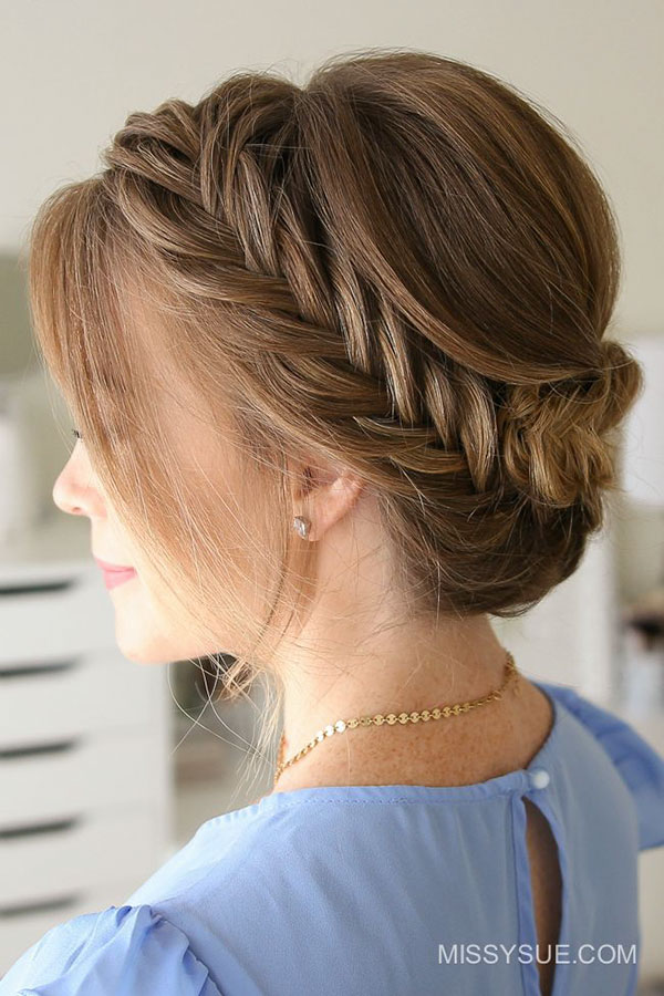 Prom Hairstyles For Girls With Medium Hair