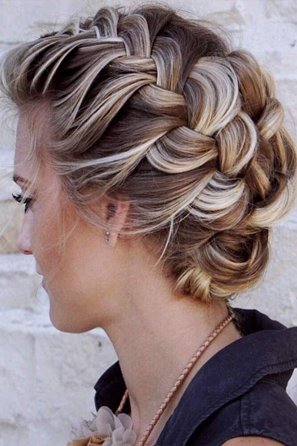 Medium Length Hair Cute Braided Hairstyles