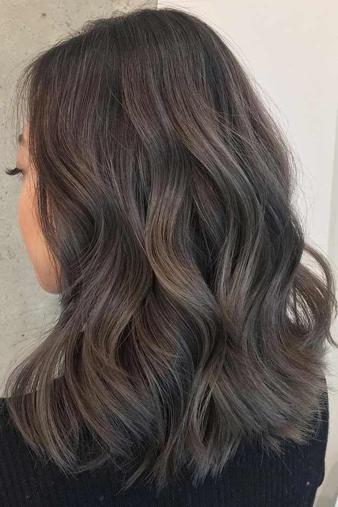 Medium Brown Wavy Hairstyles